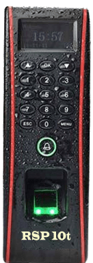 CAMS RSP10t, The best waterproof biometric attendance system for door access, for corporates and IT companies