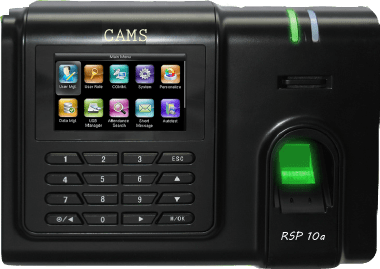 CAMS RSP10a, Fingerprint Biometric and Card Attendance System for School, Factory, Corporate